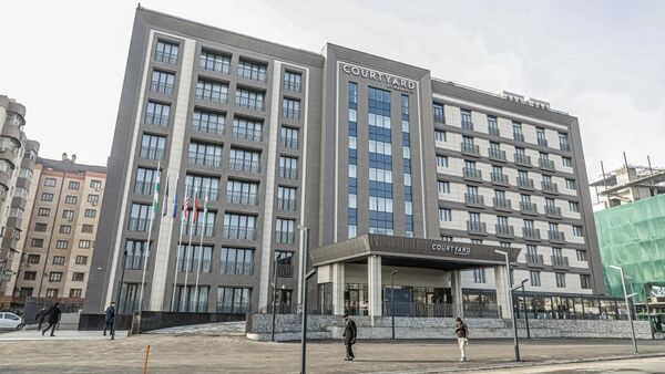 Гостиница международного бренда Marriott - Sputnik Узбекистан