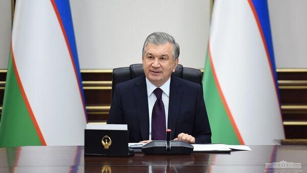 Shavkat Mirziyoyev na soveщanii 23 dekabrya 2020 goda - Sputnik Oʻzbekiston