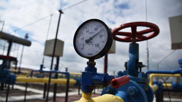 На горном газовом месторождении - Sputnik Узбекистан