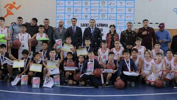 Чемпионат Узбекистана по баскетболу среди подростков - Sputnik Узбекистан