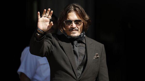 Johnny Depp - Sputnik Узбекистан