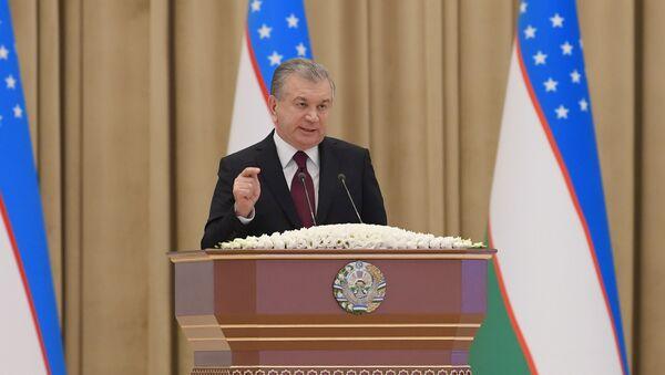 Prezident Uzbekistana Shavkat Mirziyoyev ozvuchil poslaniye Oliy Majlisu - Sputnik Oʻzbekiston