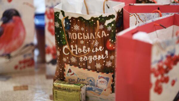 Отправка подарков миротворцам в Нагорный Карабах - Sputnik Ўзбекистон