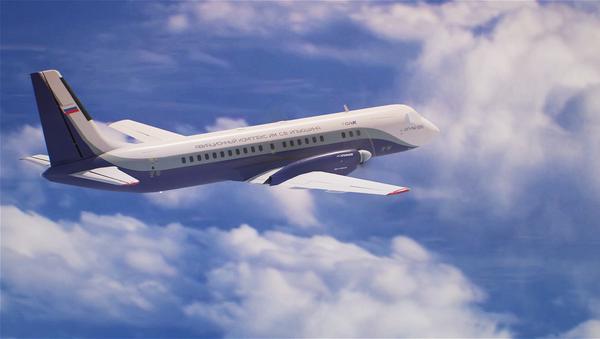 Новый российский пассажирский самолет Ил-114-300 - Sputnik Ўзбекистон