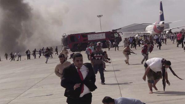 Обстрел аэропорта в Йемене: число жертв выросло до 13 - Sputnik Ўзбекистон