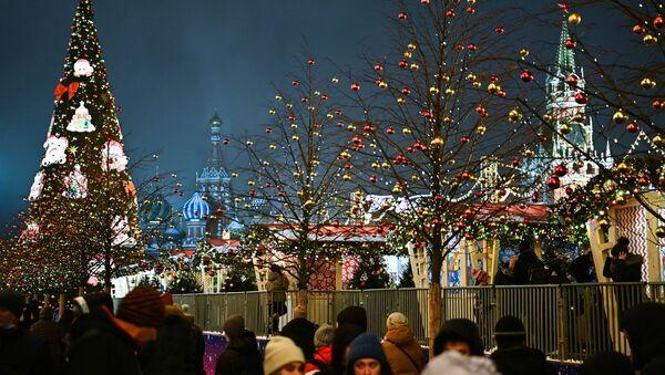Москва в преддверии Нового года - Sputnik Узбекистан