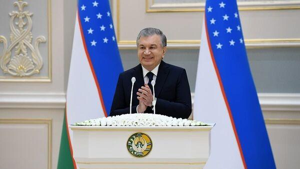 Выступление президента Узбекистана Шавката Мирзиёева - Sputnik Ўзбекистон