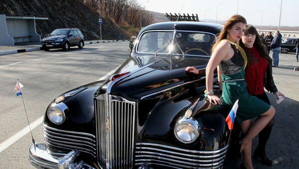 Автопробег, посвященный Дню автомобилиста, во Владивостоке - Sputnik Ўзбекистон