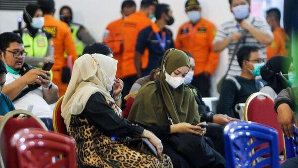 Крушение самолета в Индонезии - Sputnik Узбекистан