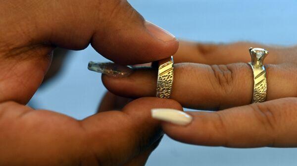 Обручальные кольца - Sputnik Узбекистан