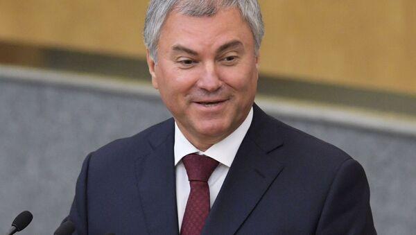Plenarnoye zasedaniye Gosdumы RF - Sputnik Oʻzbekiston