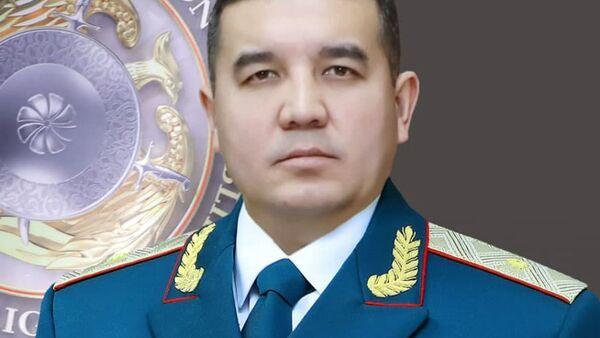 Начальник ГУВД Ташкента Азиз Анварович Ташпулатов - Sputnik Узбекистан