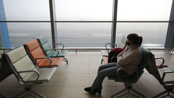 Международный аэропорт в период пандемии коронавируса - Sputnik Узбекистан