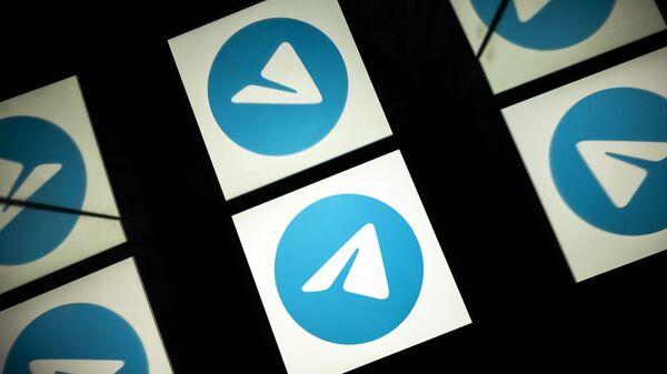 Логотип Telegram - Sputnik Узбекистан