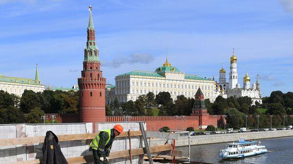 Rabochiye v Moskve - Sputnik Oʻzbekiston
