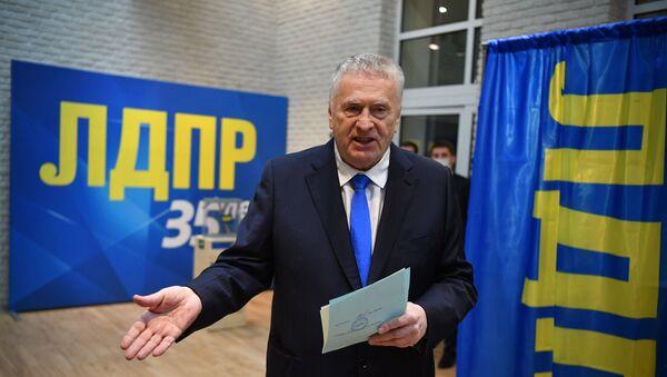 Predsedatel LDPR Vladimir Jirinovskiy  - Sputnik Oʻzbekiston
