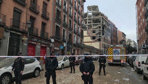 Взрыв в жилом доме в Мадриде - Sputnik Узбекистан