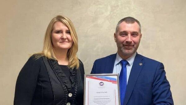 Светлана Сладкова и Вадим Коженов - Sputnik Узбекистан