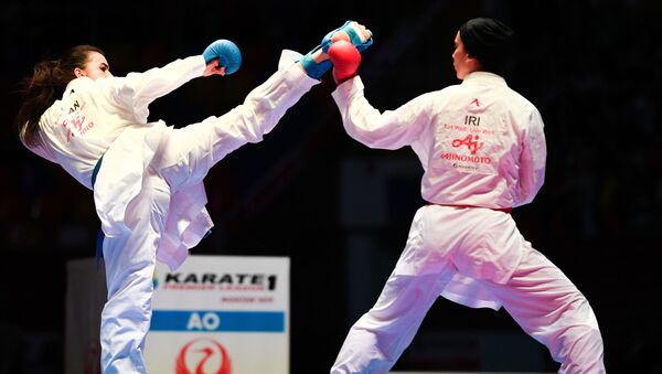Карате. Этап Премьер-лиги Karate1 - Sputnik Ўзбекистон