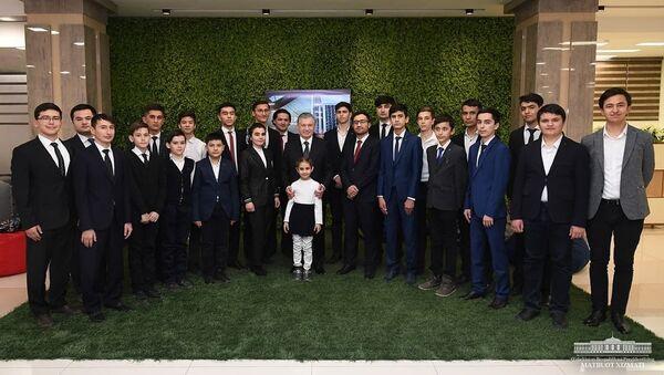 Президент встретился с молодыми программистами - Sputnik Ўзбекистон