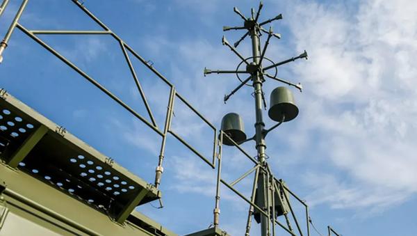 Звукотепловой комплекс автоматизированной артиллерийской разведки Пенициллин - Sputnik Ўзбекистон