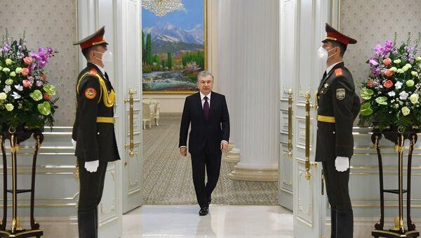 Шавкат Мирзиёев принял делегацию Саудовской Аравии - Sputnik Узбекистан