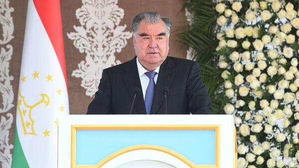 Prezident Tadjikistana Emomali Raxmon - Sputnik Oʻzbekiston
