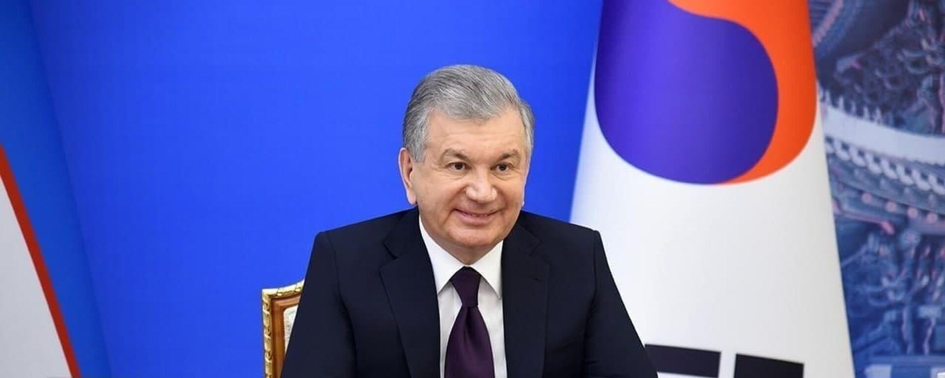 Президент Узбекистана Шавкат Мирзиёев - Sputnik Узбекистан, 1920, 28.01.2021