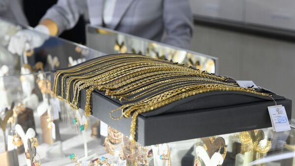 Работа ювелирного завода Фонон в Ташкенте - Sputnik Узбекистан