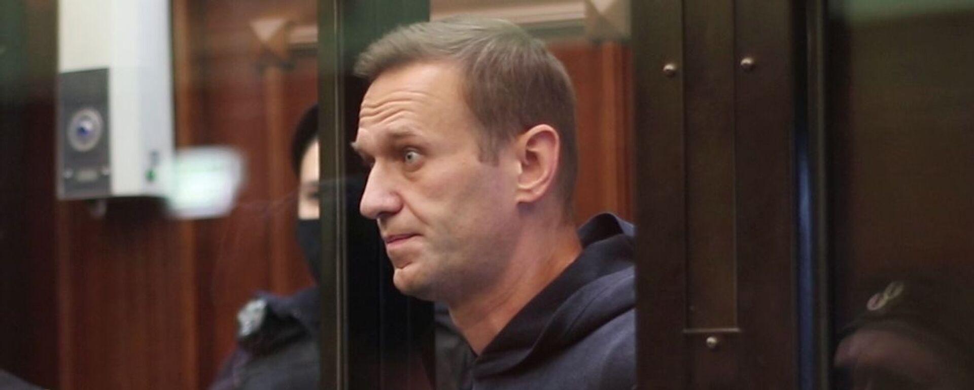 Заседание суда по делу А. Навального - Sputnik Ўзбекистон, 1920, 06.10.2021