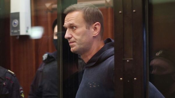 Zasedaniye suda po delu A. Navalnogo - Sputnik Oʻzbekiston