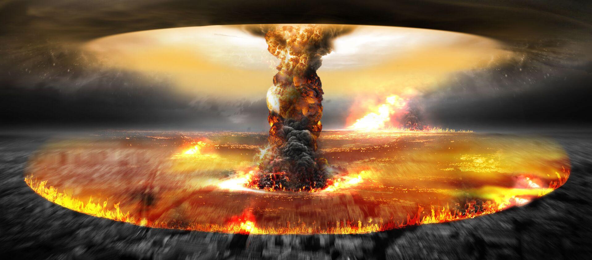 Ядерный взрыв - Sputnik Узбекистан, 1920, 03.02.2021