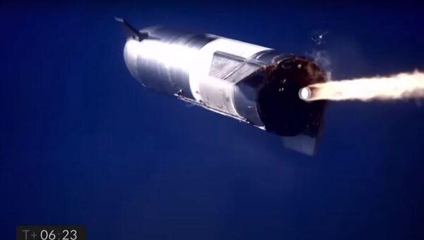Second SpaceX Starship prototype rocket explodes during landing - Sputnik Oʻzbekiston