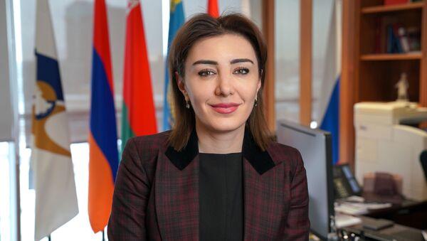 Гоар Барсегян, директор департамента развития интеграции ЕЭК - Sputnik Узбекистан