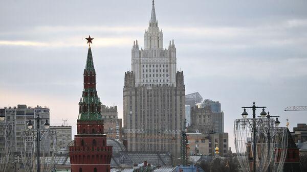 Zdaniye Ministerstva inostrannыx del RF - Sputnik Oʻzbekiston