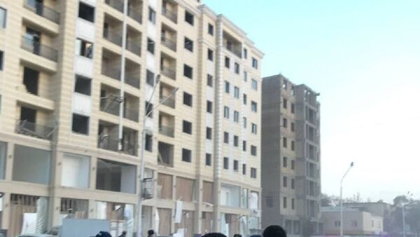 В Бухаре в строящемся восьмиэтажном доме произошёл взрыв газа - Sputnik Ўзбекистон