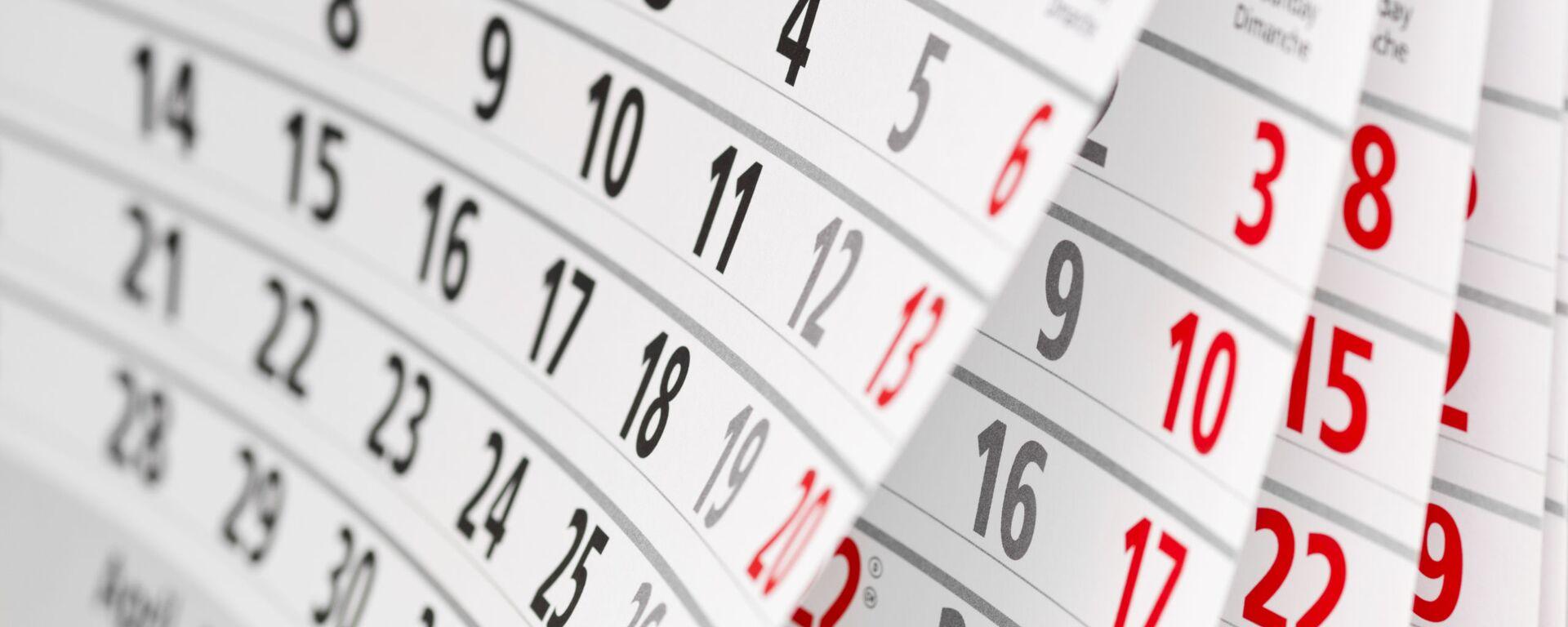 Календарь с числами - Sputnik Узбекистан, 1920, 20.07.2021