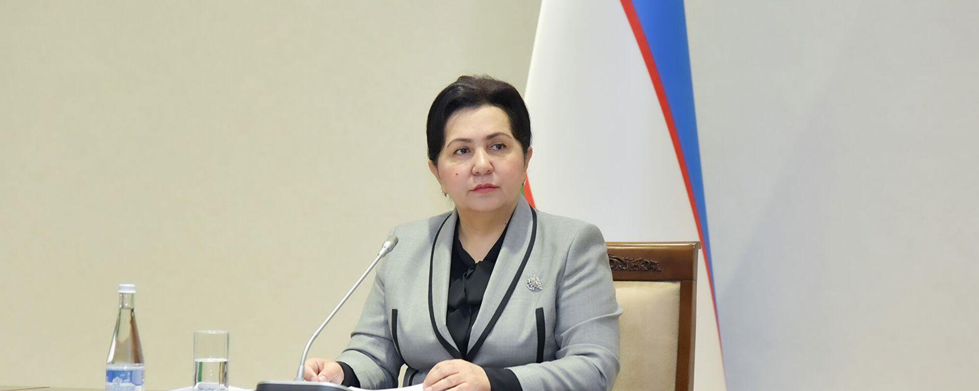 Председатель Сената Олий Мажлиса Узбекистана Танзила Нарбаева - Sputnik Узбекистан, 1920, 06.02.2021