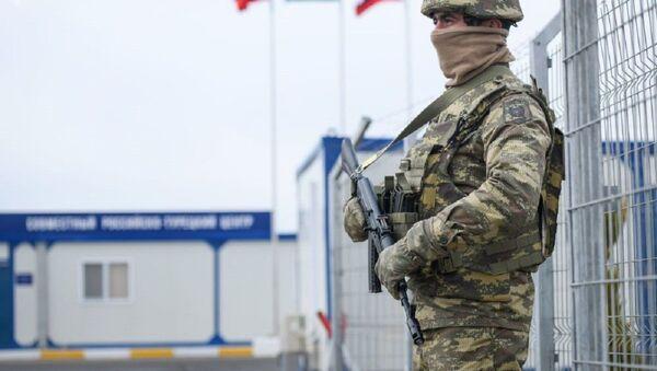 Российско-турецкий центр контроля за соблюдением перемирия в Нагорном Карабахе - Sputnik Ўзбекистон