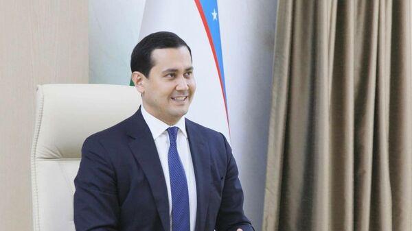 Заместитель премьер-министра, министр инвестиций и внешней торговли Узбекистана Сардор Умурзаков - Sputnik Узбекистан