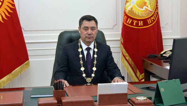 Президент Кыргызстана Садыр Жапаров - Sputnik Ўзбекистон