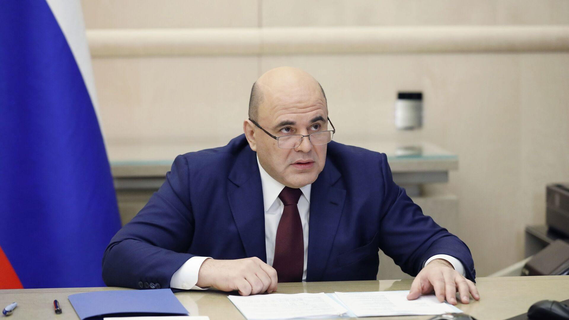 Председатель правительства РФ Михаил Мишустин - Sputnik Узбекистан, 1920, 09.02.2021
