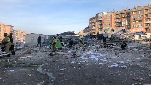 Взрыв в супермаркете во Владикавказе - Sputnik Ўзбекистон