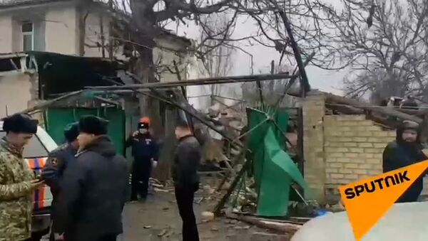 В Кыргызстане взорвался частный дом - Sputnik Ўзбекистон