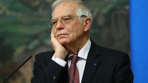 Верховный представитель Евросоюза по иностранным делам и политике безопасности Жозеп Боррель - Sputnik Ўзбекистон