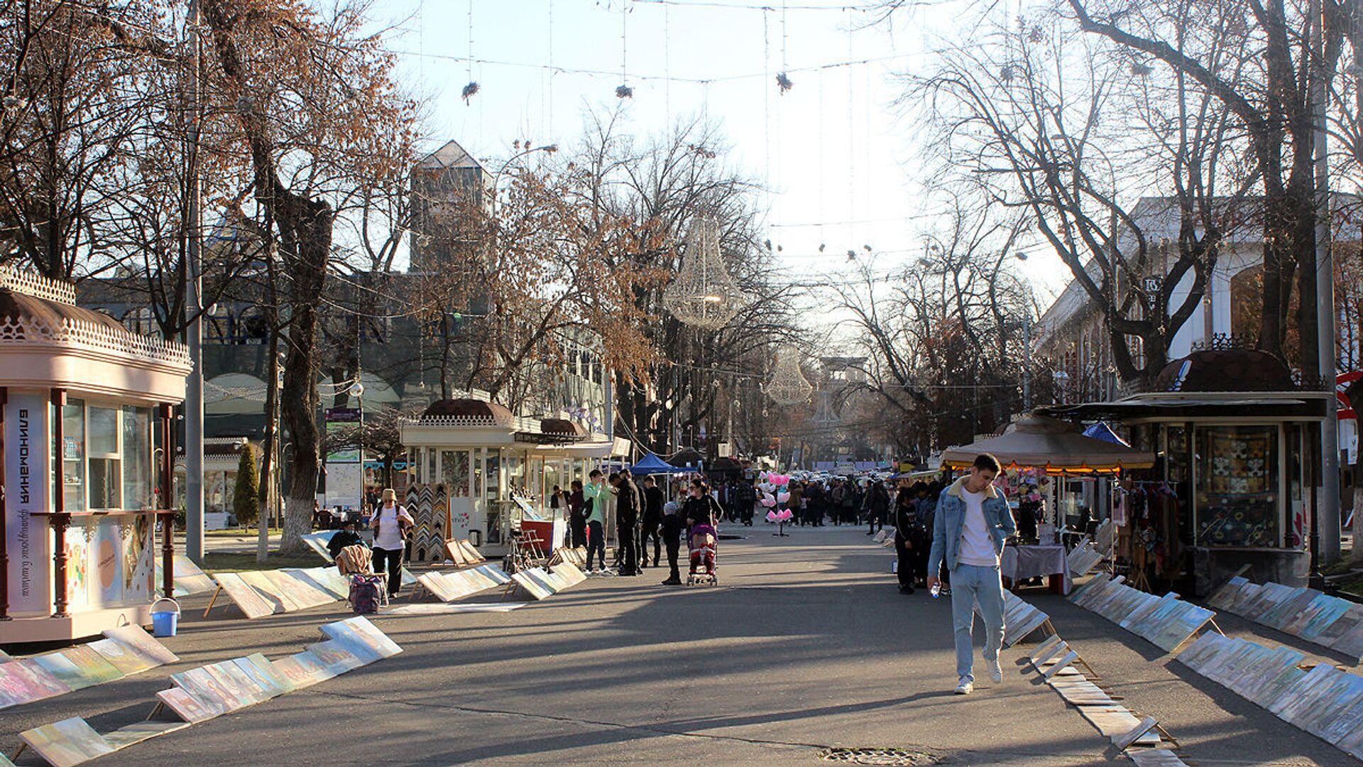 В Ташкент пришла весна - Sputnik Узбекистан, 1920, 02.04.2021