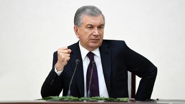 Шавкат Мирзиёев 12 февраля принял участие в расширенном заседании коллегии Министерства внутренних дел Республики Узбекистан - Sputnik Узбекистан