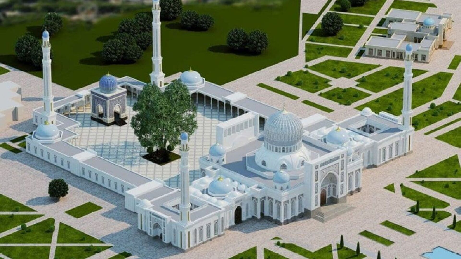 Budut rekonstruirovat mavzoley Imama Buxari - Sputnik Oʻzbekiston, 1920, 14.02.2021