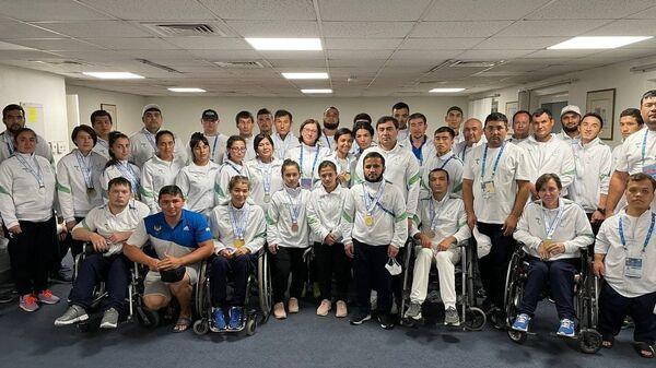 Гран-При в Дубае: делегация Узбекистана завершила турнир с 24 медалями - Sputnik Узбекистан