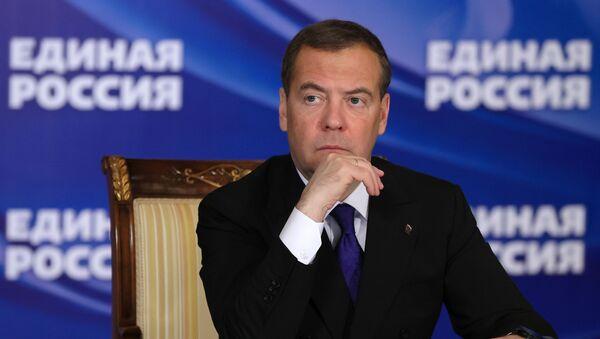 Zampred Sovbeza RF D. Medvedev - Sputnik Oʻzbekiston